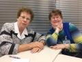 Carol F and Kathy A