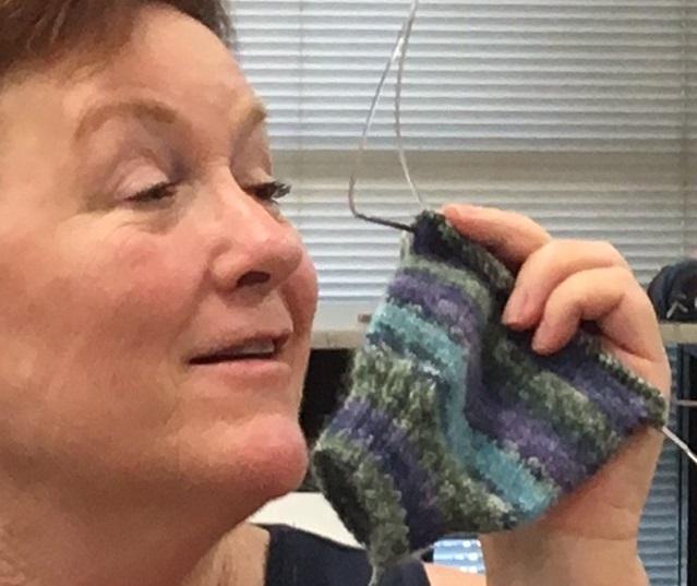 deb's sock