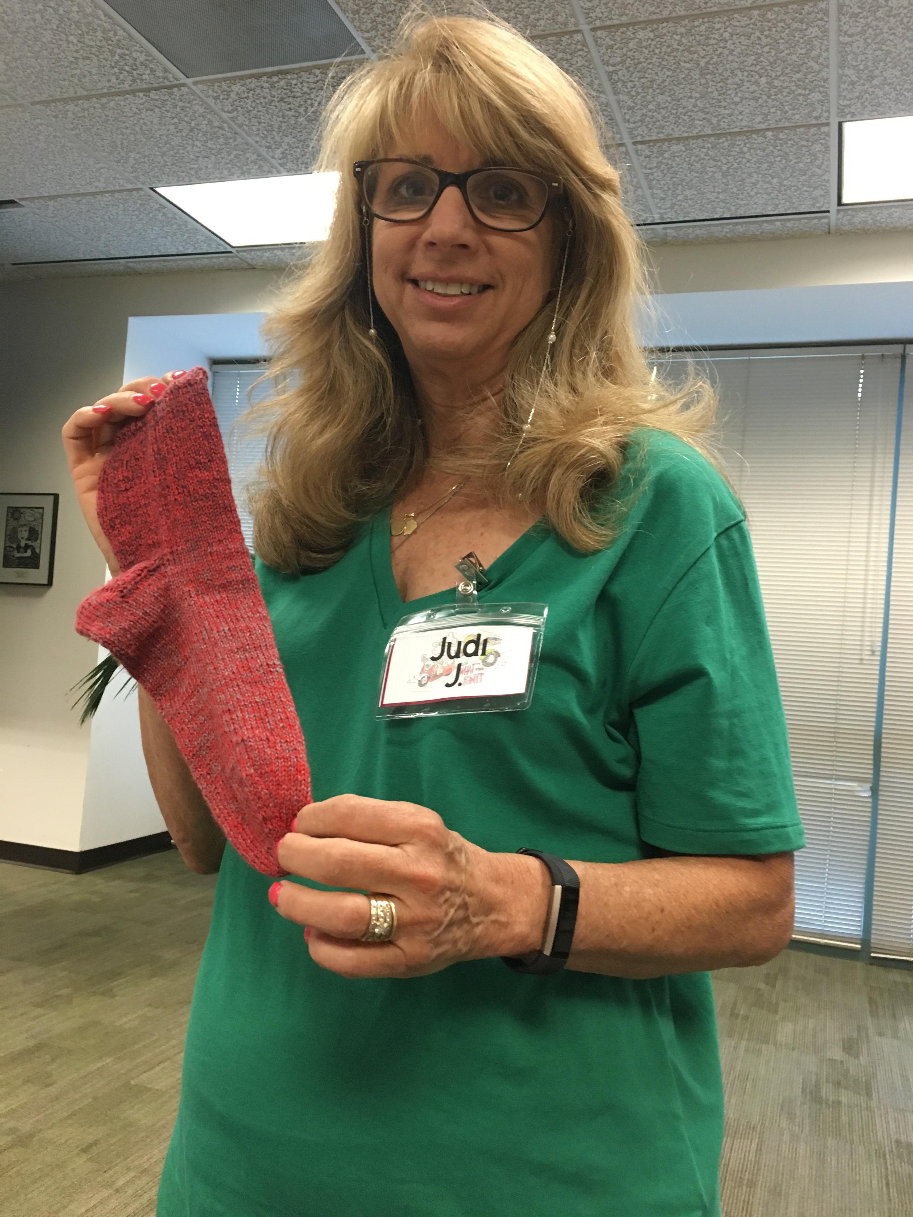judi's sock